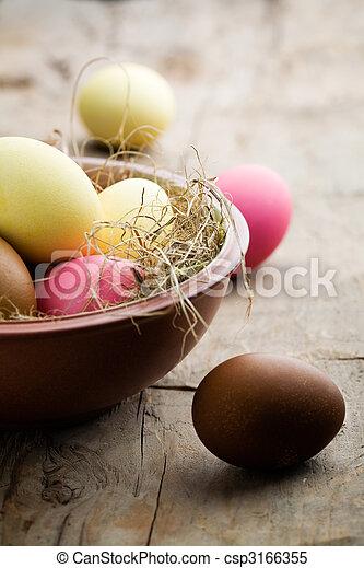 Easter eggs - csp3166355