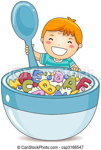 Alphabet Cereals - csp3166547