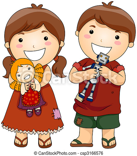 Stock de ilustracion de regalo juguetes desgraciado - Juguetes nuevos para ninos ...