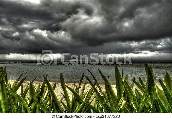 Stormy weather - csp31677320