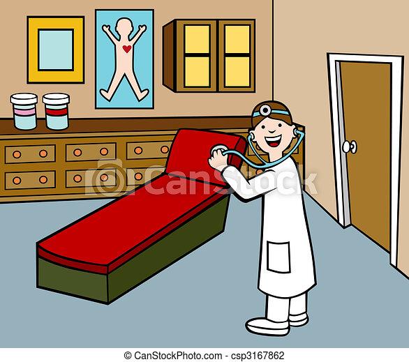 Doctor in Exam Room - csp3167862