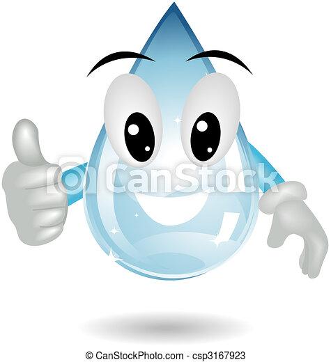 Water Drop - csp3167923