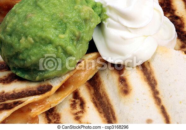 mexican quesadilla   - csp3168296