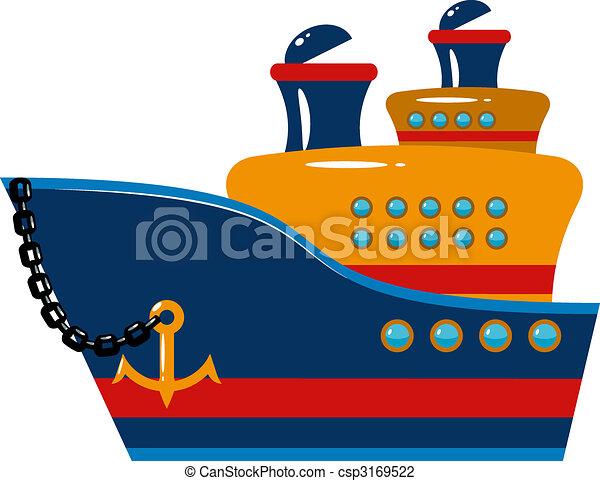 Passenger cruise ship - csp3169522