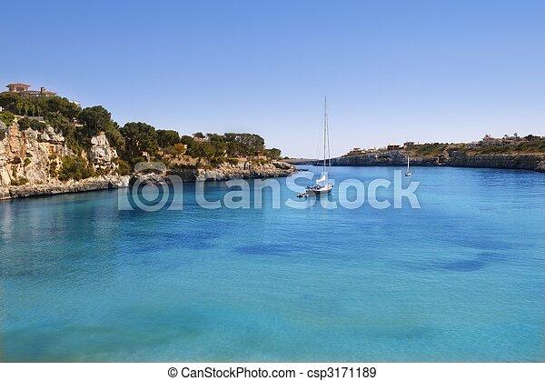 Porto Cristo Mallorca beach Balearic islands - csp3171189