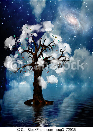 Spiritual Tree - csp3172935