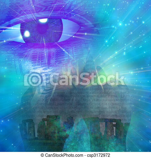 Mystical Symbols - csp3172972