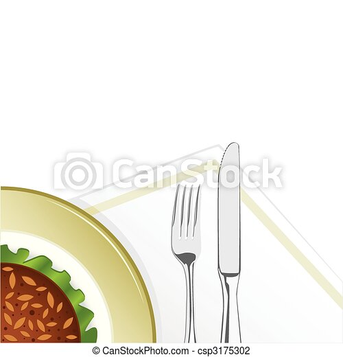 Tasty food - csp3175302