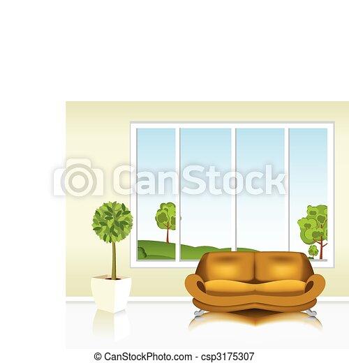 Living room  - csp3175307