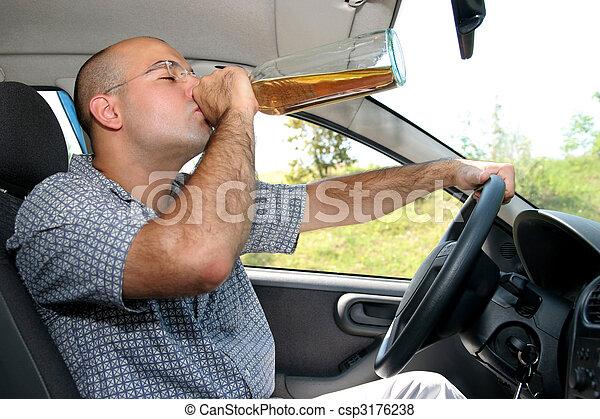 Drunk driver - csp3176238