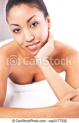 Beauty spa woman - csp3177332