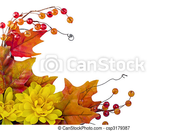 Fall frame - csp3179387