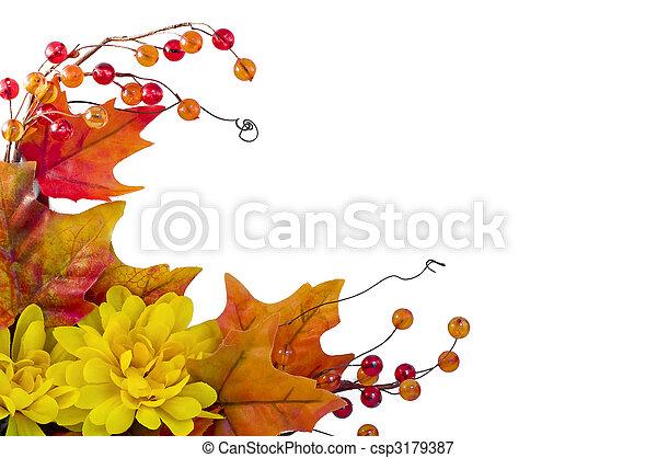 Fall frame - csp3179387