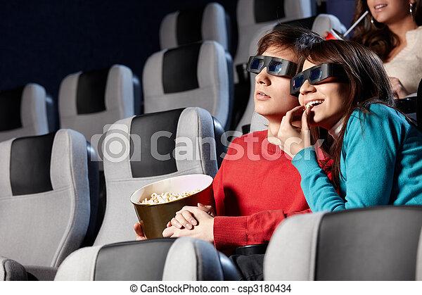 At a cinema - csp3180434