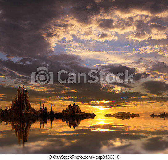 Fantasy landscape - csp3180810