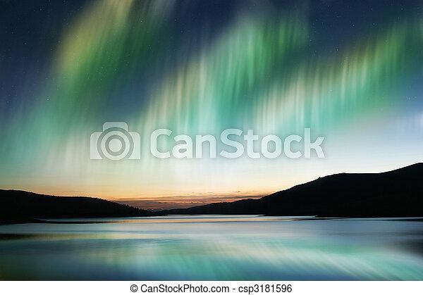 Aurora Borealis - csp3181596