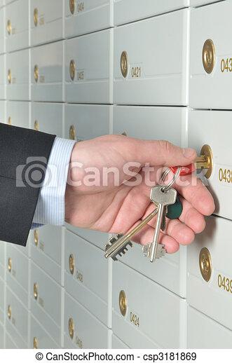 Deposit safe bank - csp3181869