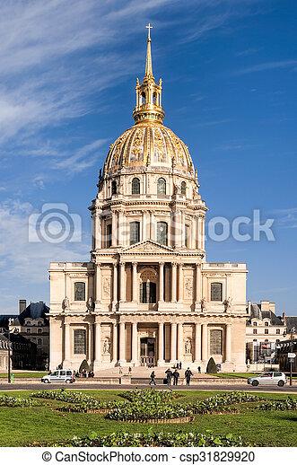 Invalides in Paris - csp31829920