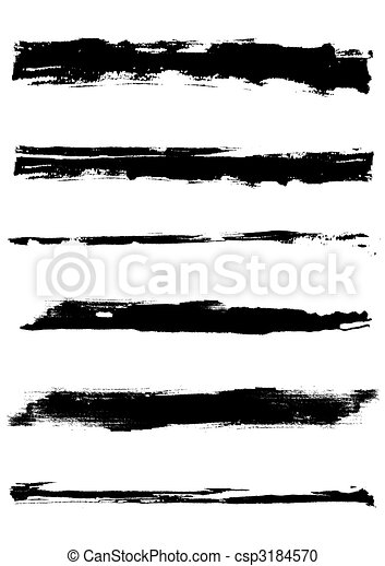Grunge vector edges - csp3184570