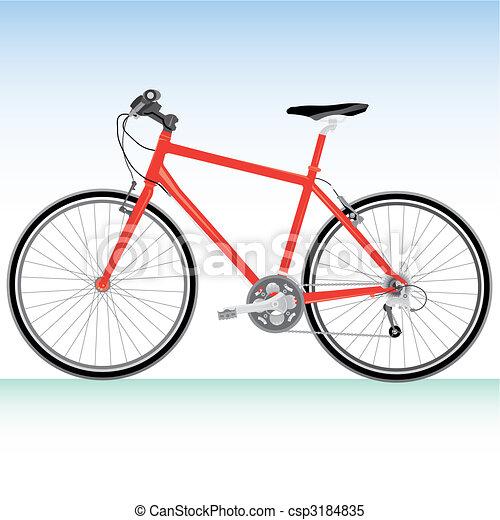 Mountain bike - csp3184835