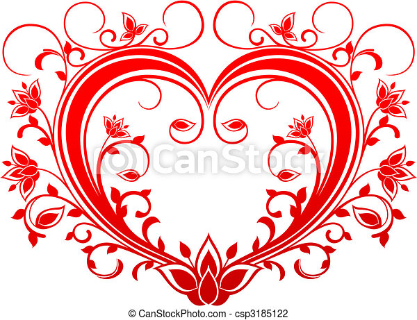 Valentine heart - csp3185122