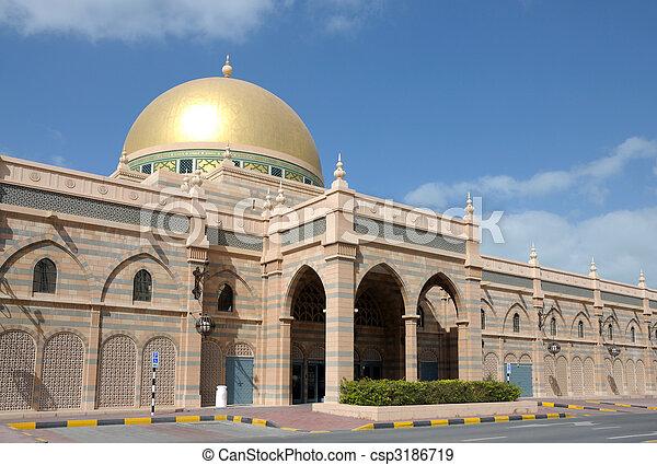 Sharjah Museum of Islamic Civilization. United Arab Emirates - csp3186719