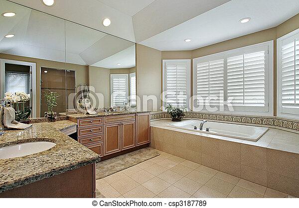 stock fotografien von granit bad meister theken. Black Bedroom Furniture Sets. Home Design Ideas