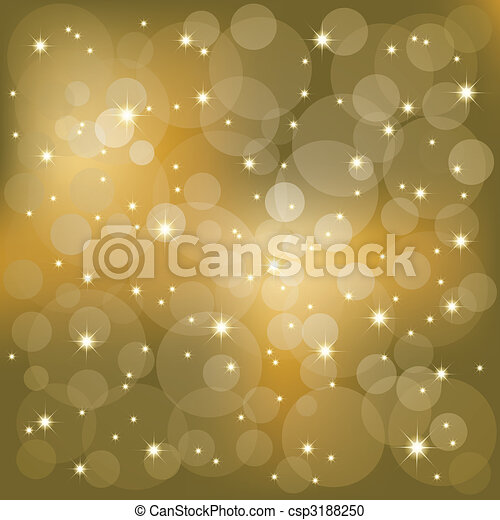 Sparkling stars light background - csp3188250