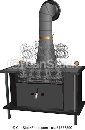 Wood Burning Stove - csp31887390