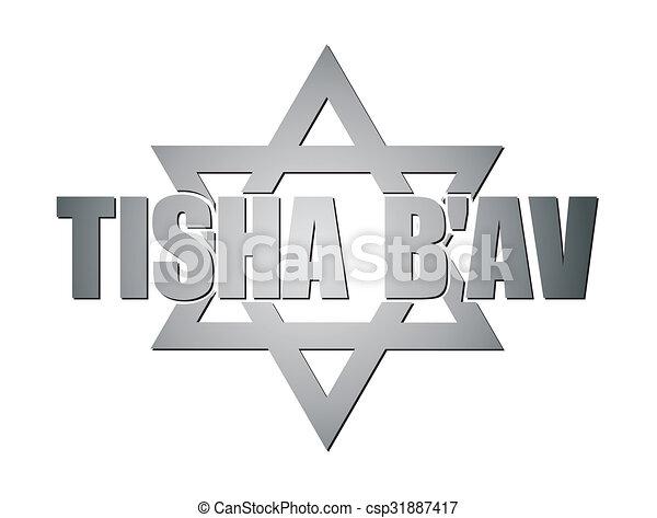 Tisha B'av - csp31887417