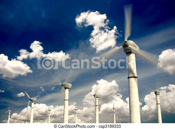 Wind Turbine - csp3189333