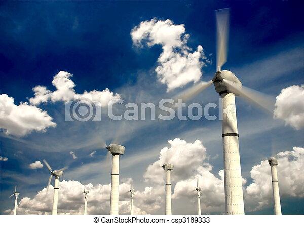 Wind Turbine - csp3189333