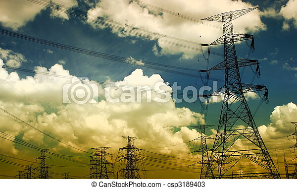 Electricity tower - csp3189403