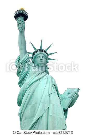 statue of liberty - csp3189713