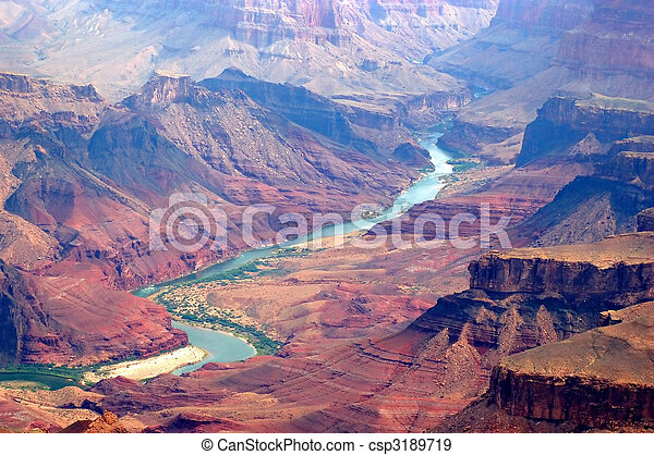 Grand canyon and colorado river - csp3189719