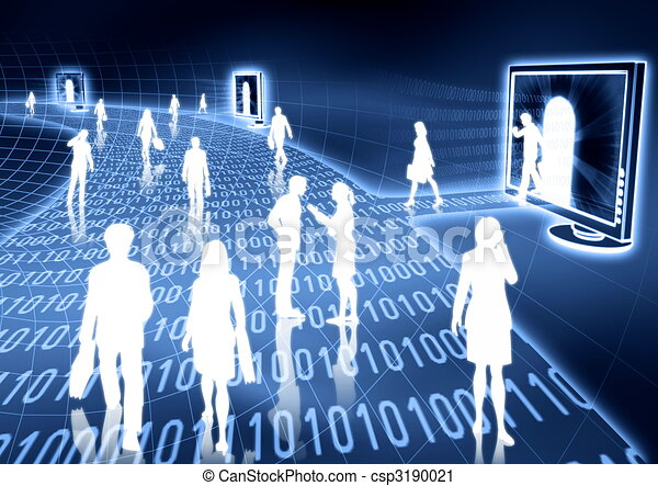 Internet Business - csp3190021