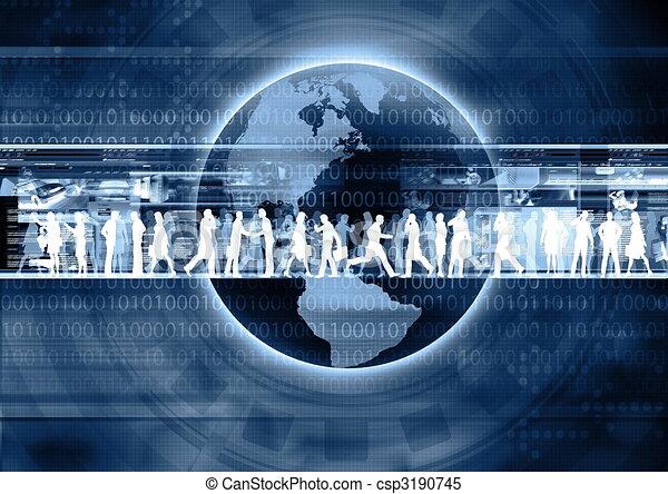 Internet Business - csp3190745