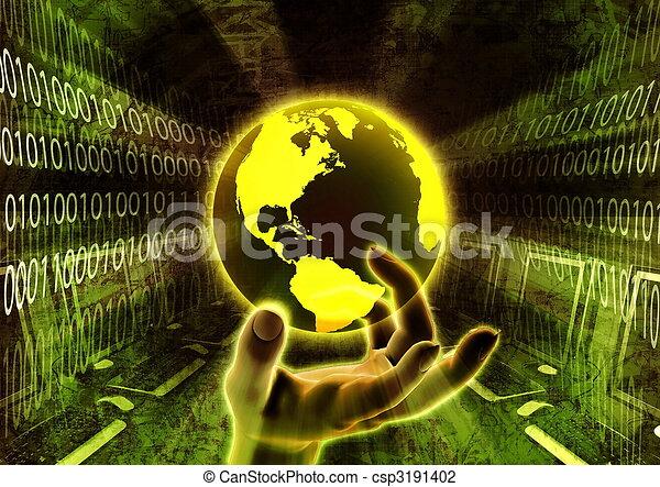 Worldwide information - csp3191402