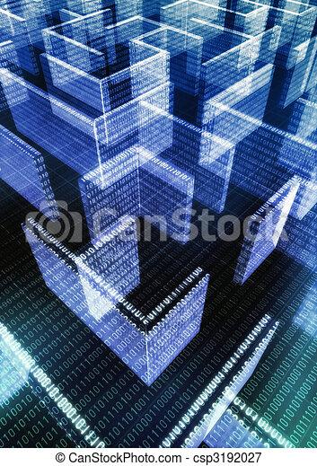 Information Technology Maze - csp3192027