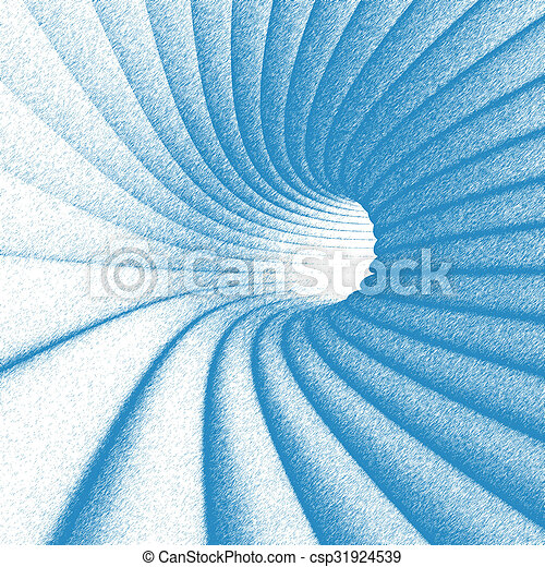 Abstract Tunnel Design - csp31924539