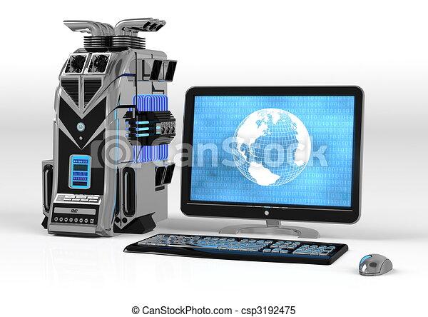 Powerful Computer Setup - csp3192475
