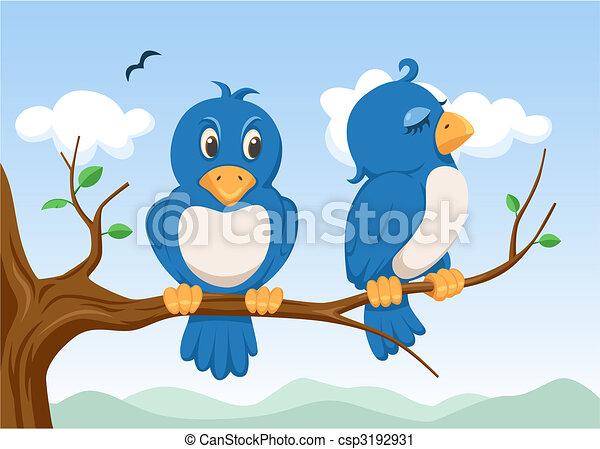 two birds - csp3192931