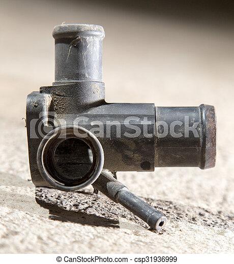 Stock Photographs Of Tube On The Motor Vehicle Csp31936999