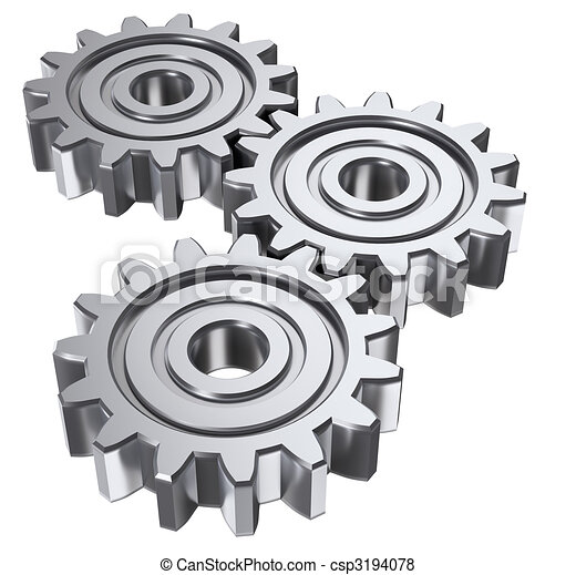 three gear - csp3194078