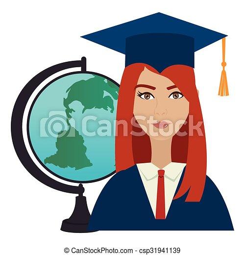 Vectors of University students graduation graphic design, vector ...