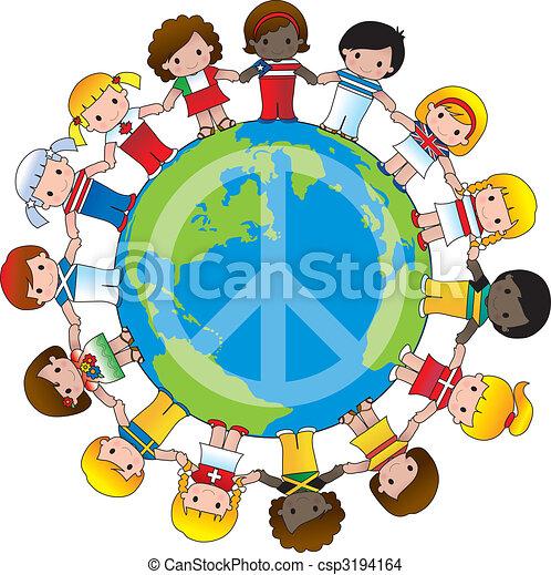 Global Children - csp3194164
