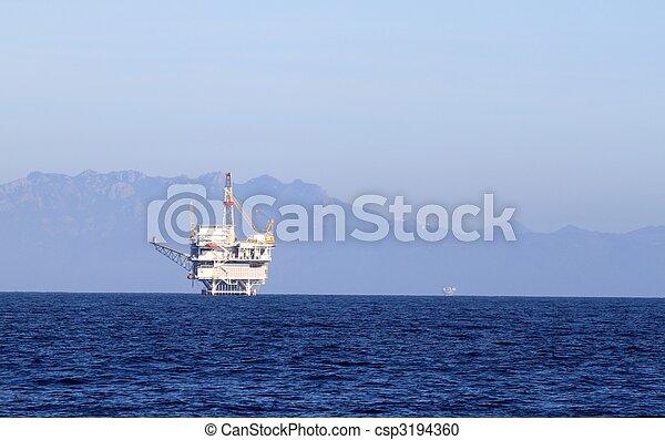 oil rig - csp3194360
