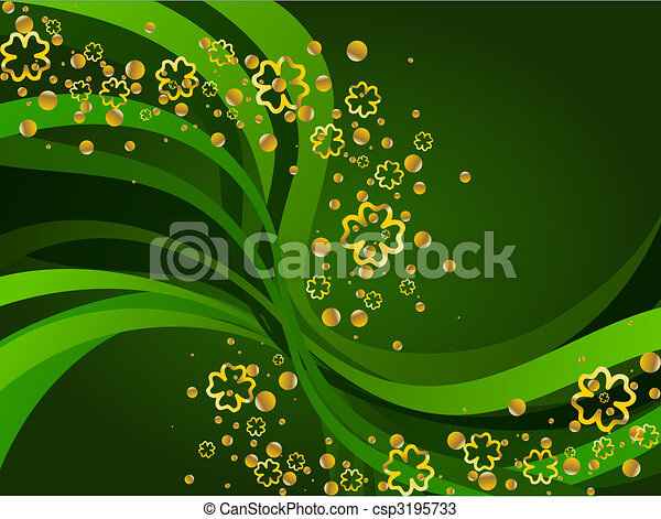 St Patricks Day background  - csp3195733