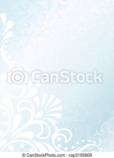 Victorian white satin background, vertical - csp3195909