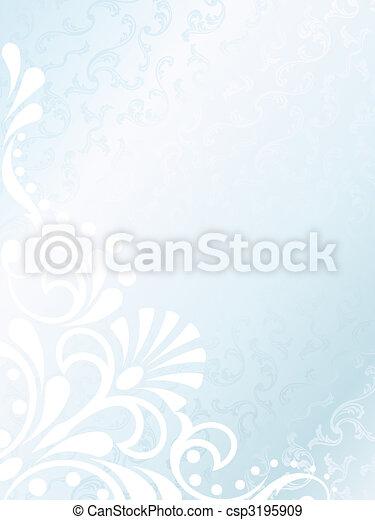 Victorian white satin background, vertical - csp3195909